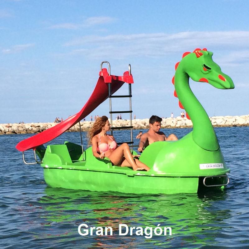 Venta y alquiler de hidropedales Gran Dragon