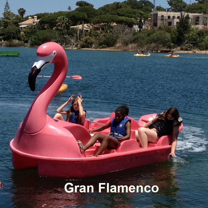 Venta y alquiler de hidropedales Gran Flamenco