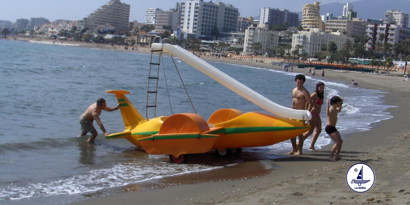 Pedalo hidroavion
