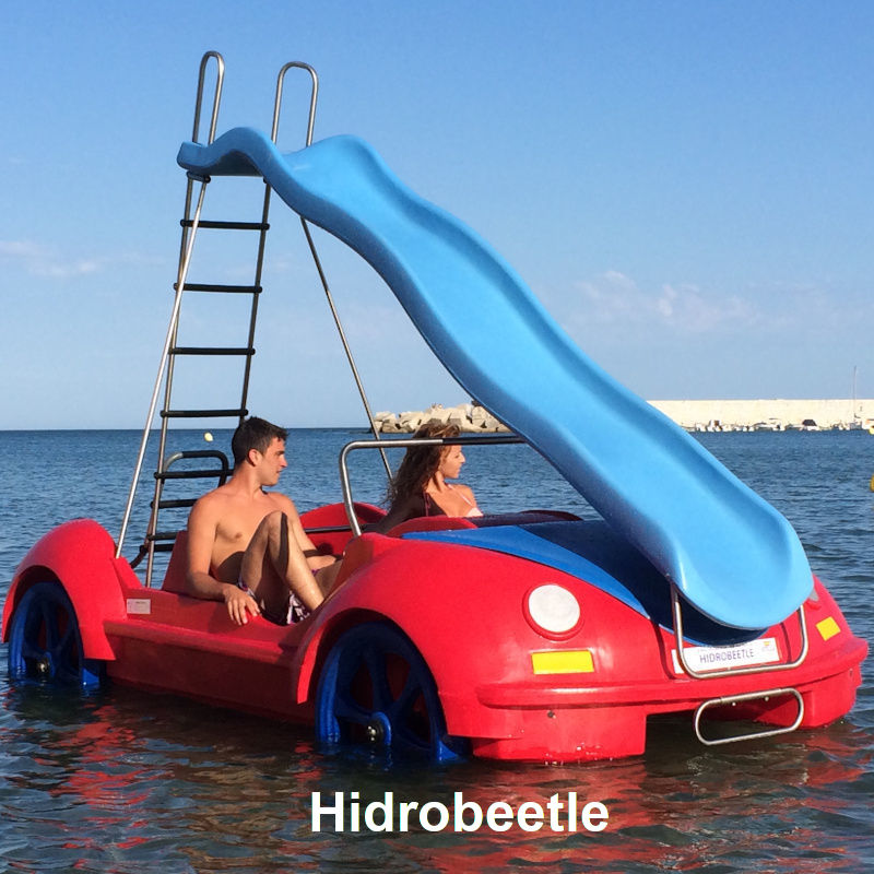 Venta y alquiler de hidropedales Hidrobeetle