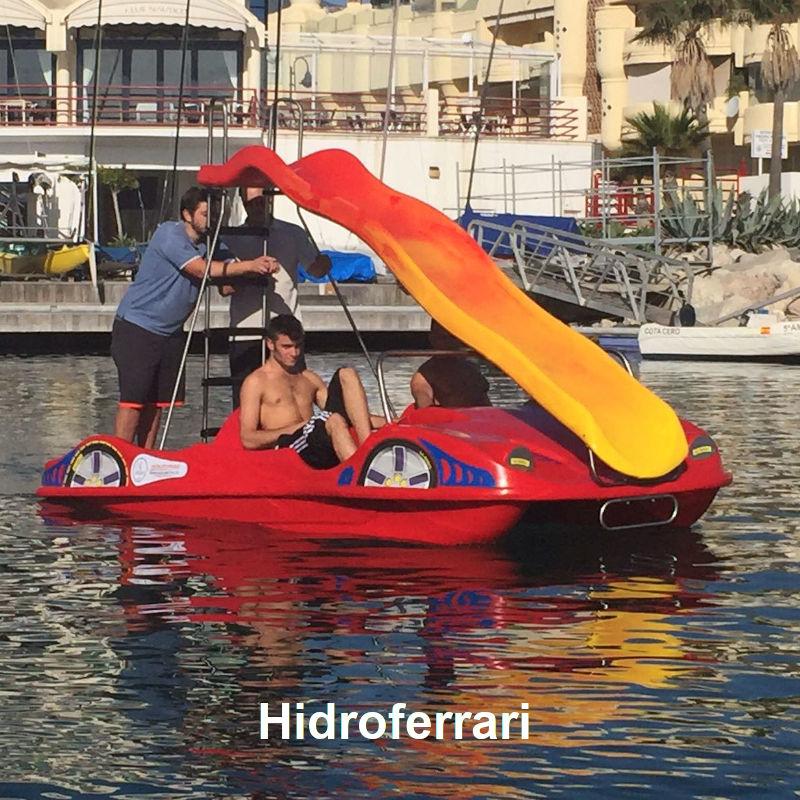 Venta y alquiler de hidropedales HidroFerrari