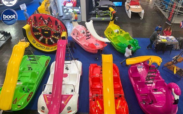 Salón Düsseldorf 2020 - Venta de hidropedales y barcos parasail