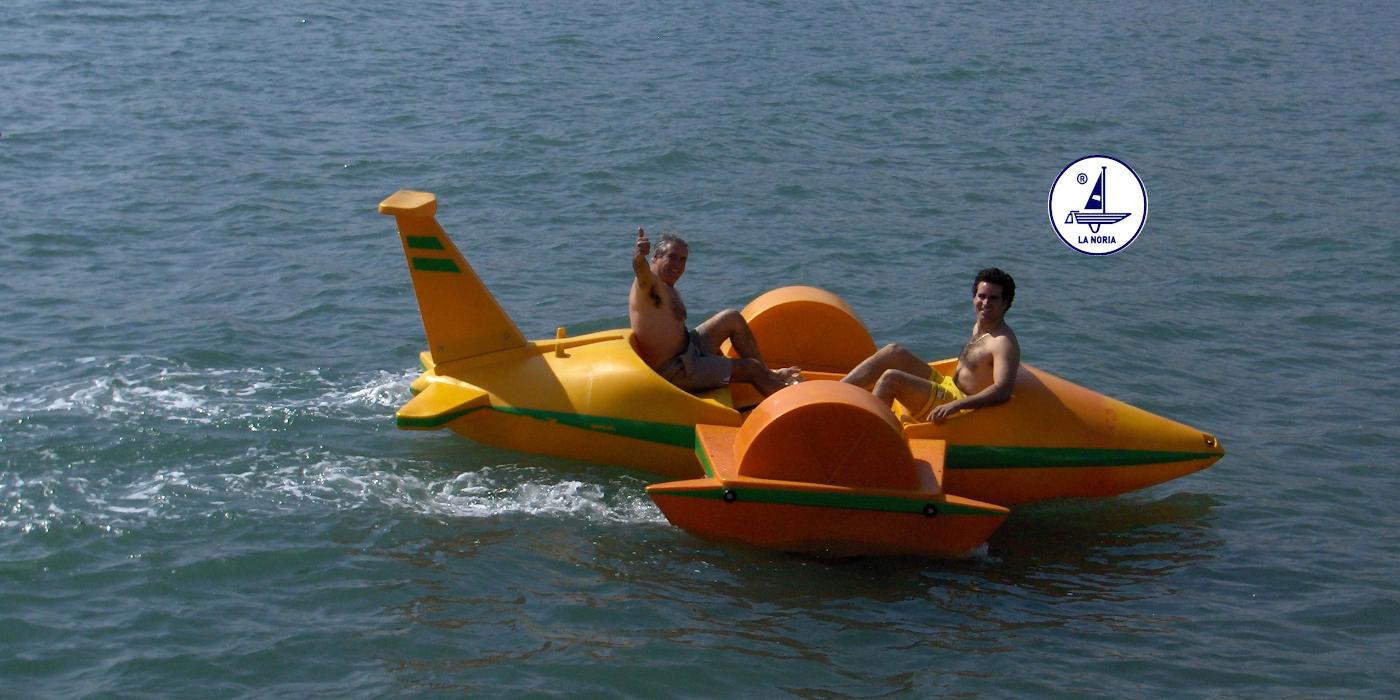 Hidropedal Hidroavion