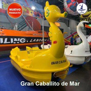 Nuevo hidropedal Gran Caballito de Mar