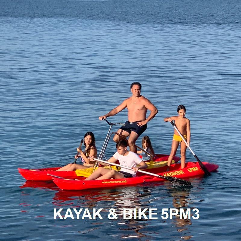 Venta y alquiler de bicicleta acuática 5PM3