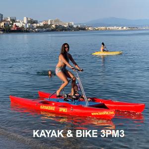 Venta y alquiler de bicicletas acuáticas