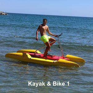 Venta y alquiler de bicicleta acuática